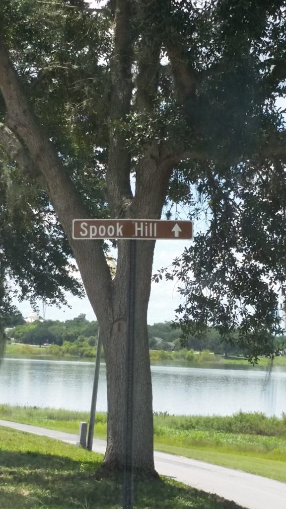 directions to spook hill